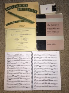 scales and technique books for flute