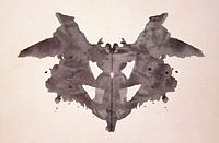 Rorschach test ink blot silence