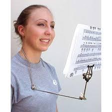 flute lyre for neck