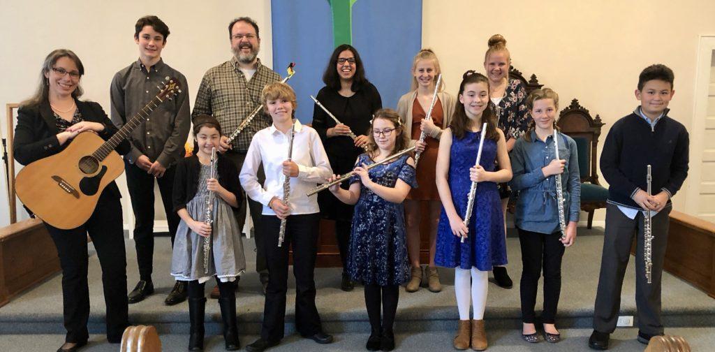 flute students of Marlene Hartzler